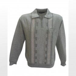 Polo manches longues maille...
